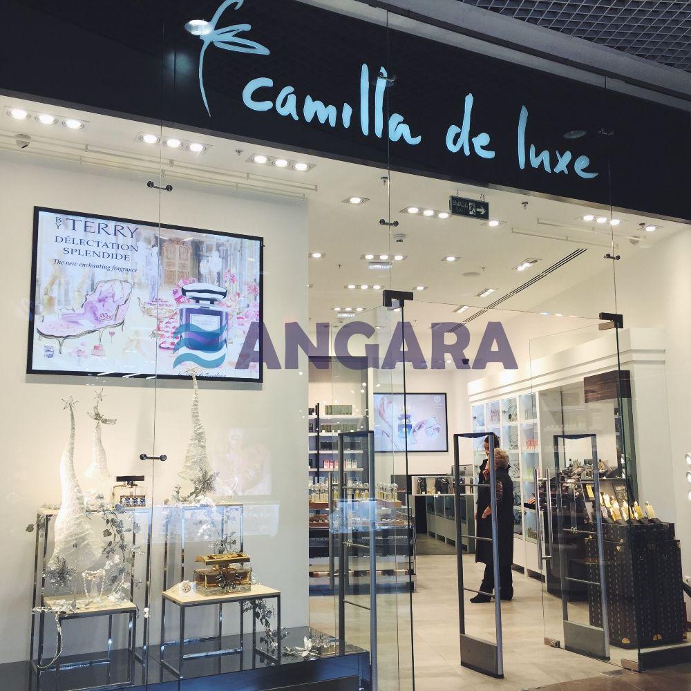 Световая вывеска магазина Camilla de luxe