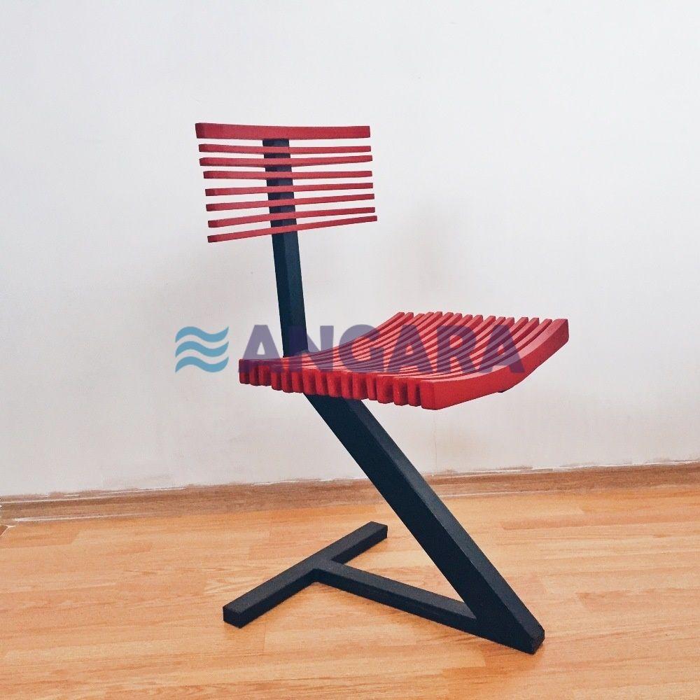 Стул Zorro -chair, исполнение - фанера, металл, окраска - любой цвет