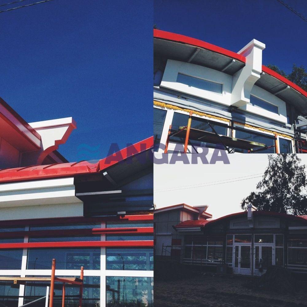 Декоративные элементы фасада для компании РЖД